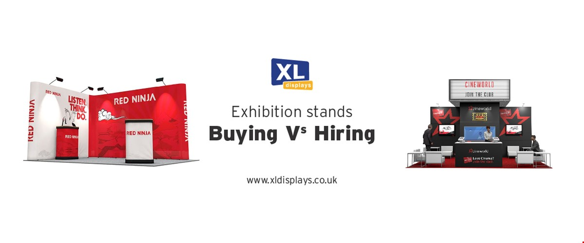 Exhibition Stands: Buying vs Hiring