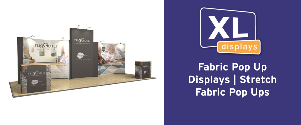 Fabric Pop Up Displays | Stretch Fabric Pop Ups