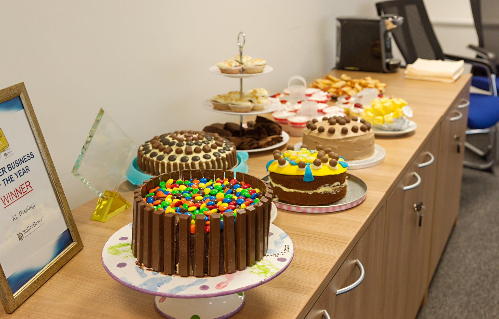 XL Displays Charity Bake Off