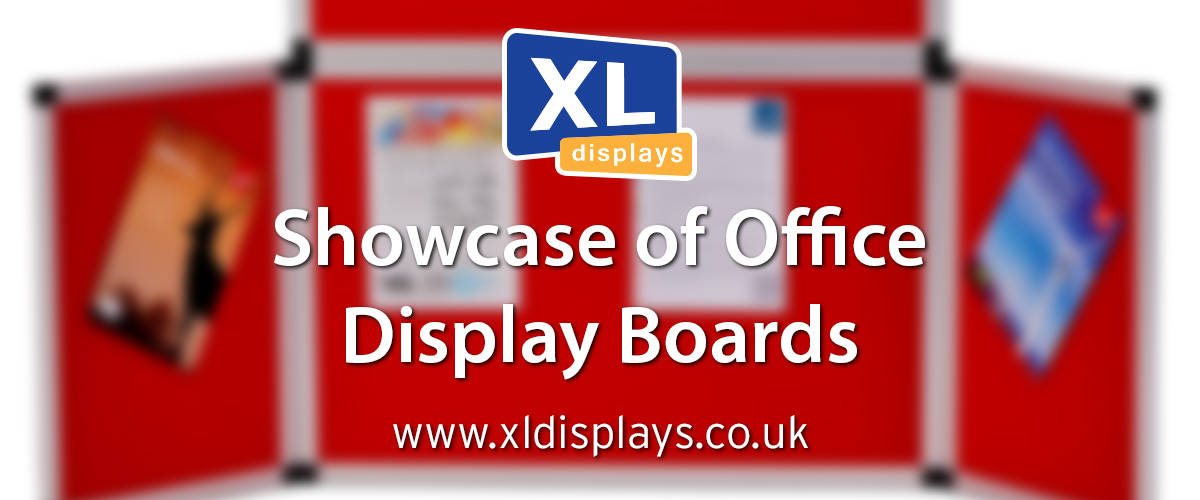 Showcase of Office Display Boards