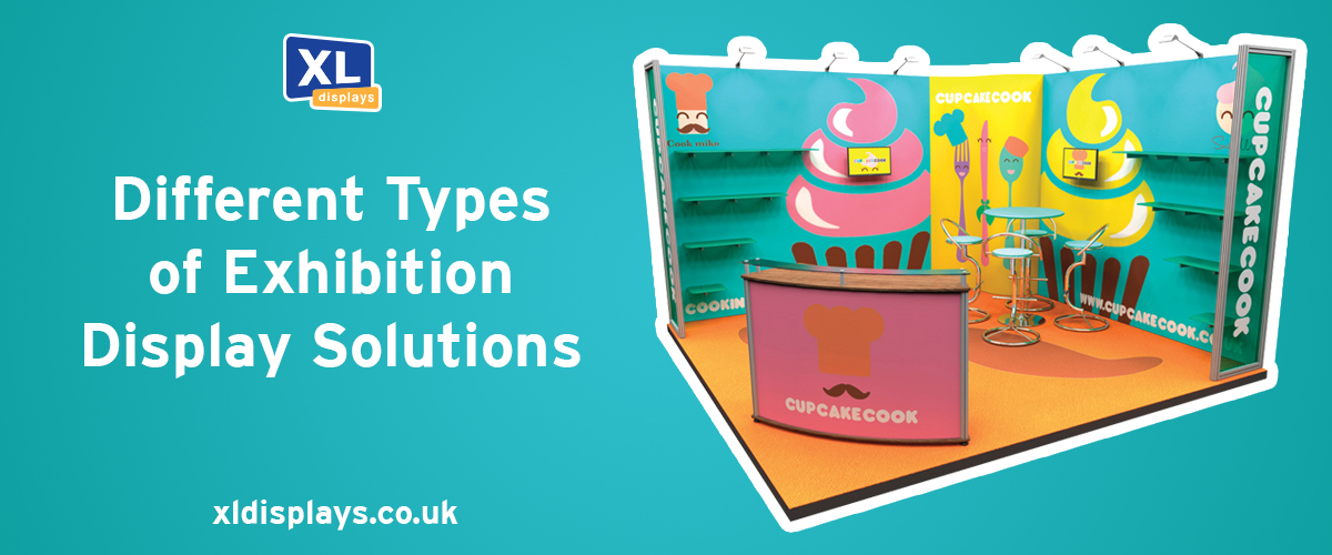 Different Types of Exhibition Display Solutions