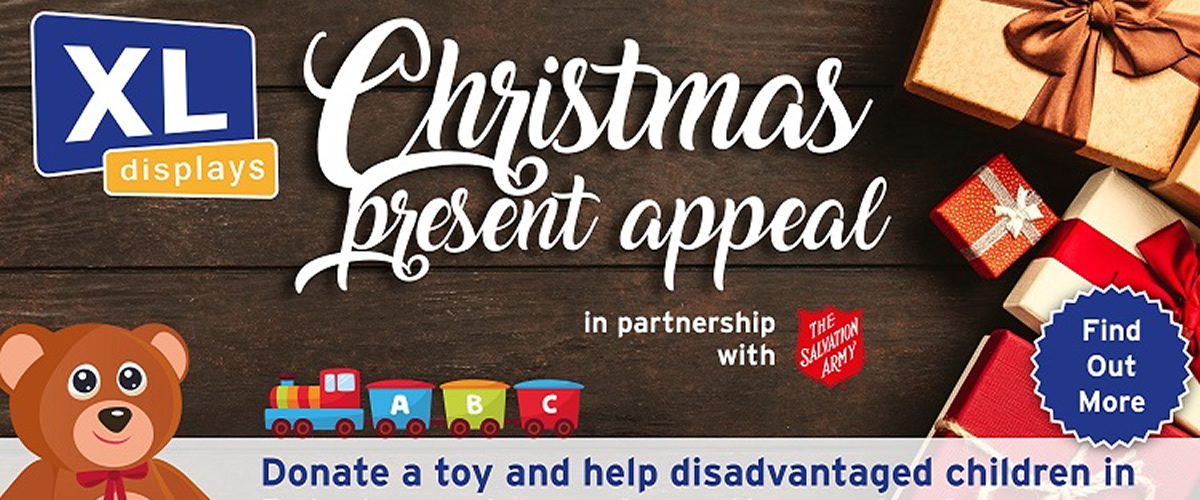 XL Displays' Christmas Present Appeal 2018