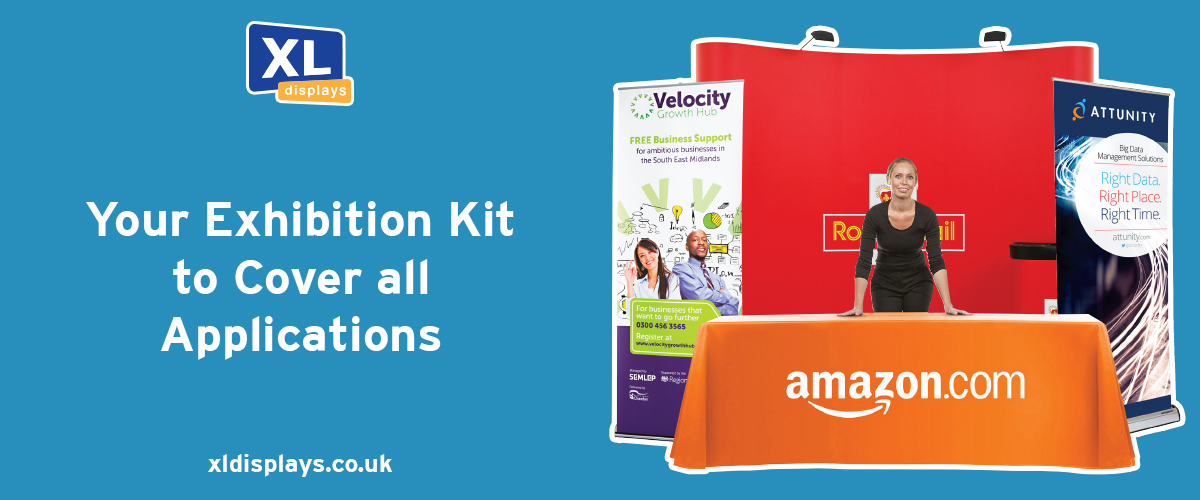 Your Exhibition Kit to Cover All Applications