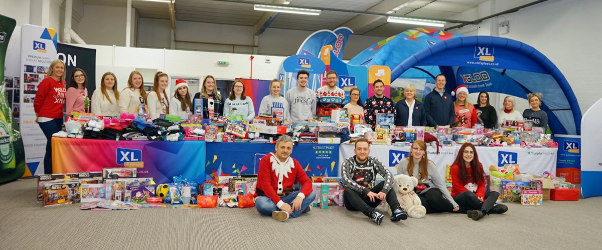 We Collected 1000+ Gifts For Our Christmas Present Appeal In Partnership With The Salvation Army