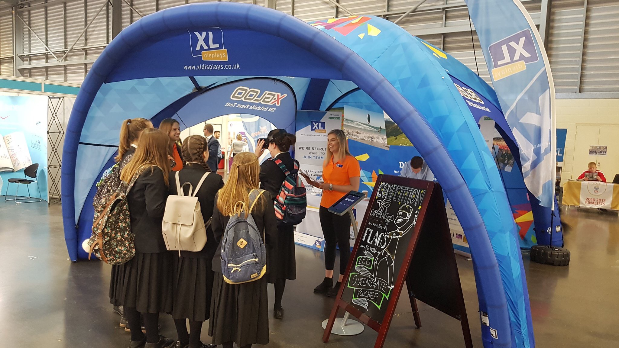 XL Displays Careers Fair VR Competition