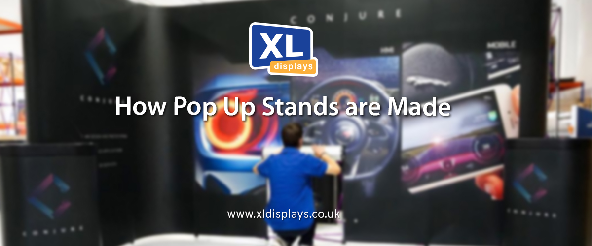 How Pop Up Stands are Made