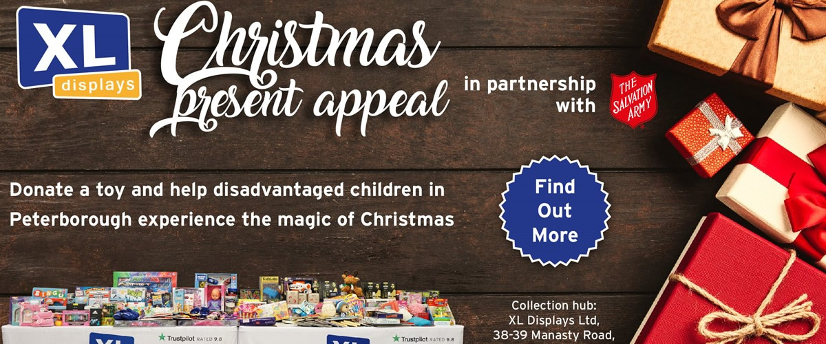 XL Displays' Christmas Present Appeal 2019