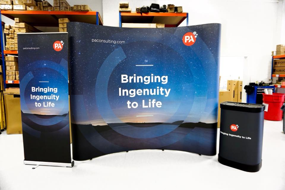 Pop Up Stand And Pull Up Banner Bundle