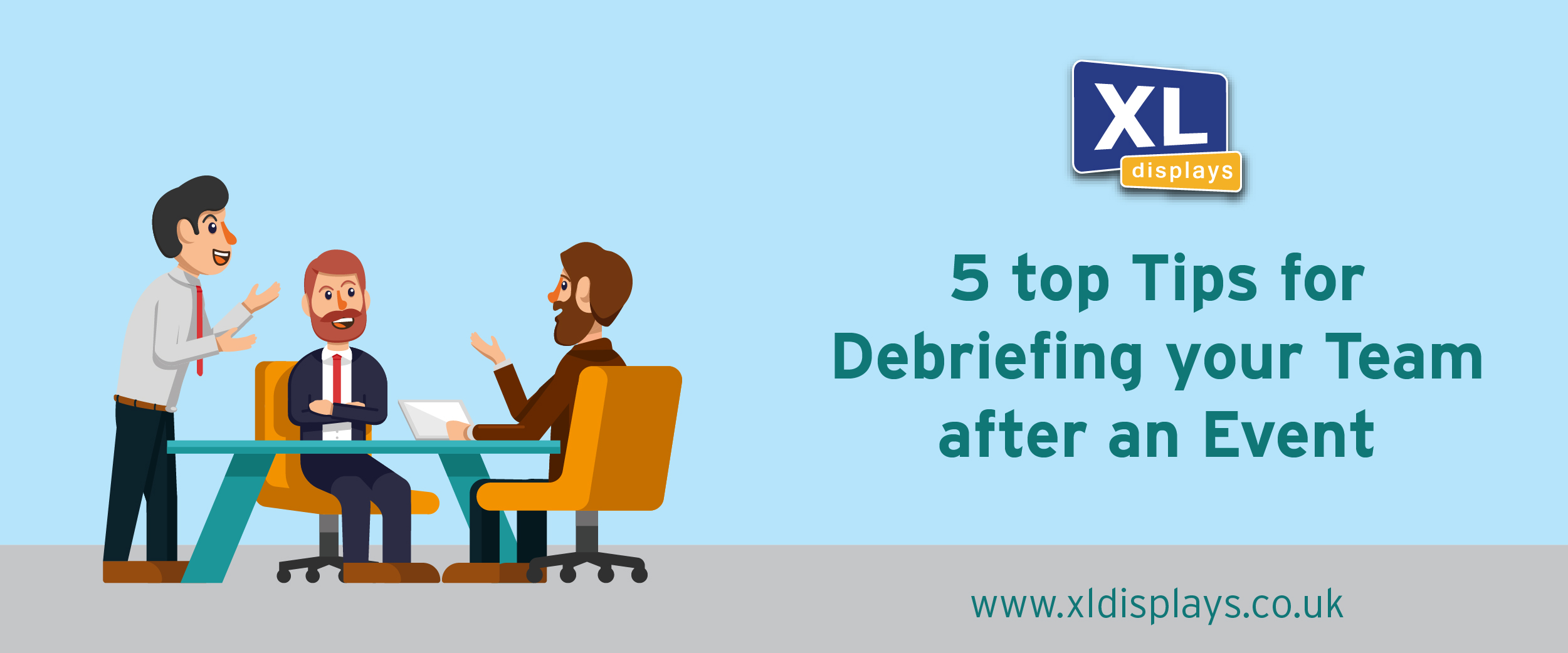 5 Top Tips for Debriefing Your Team After An Event