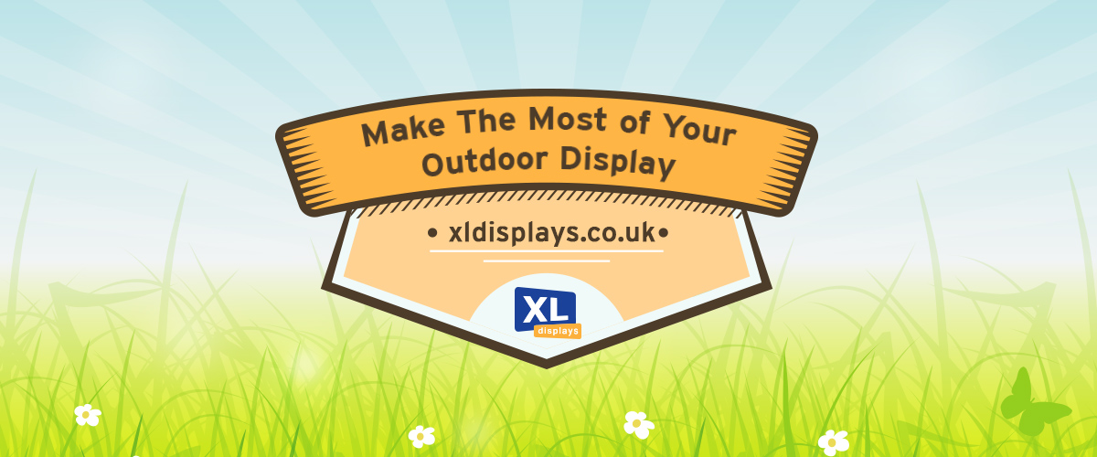 Make the Most of Your Outdoor Display