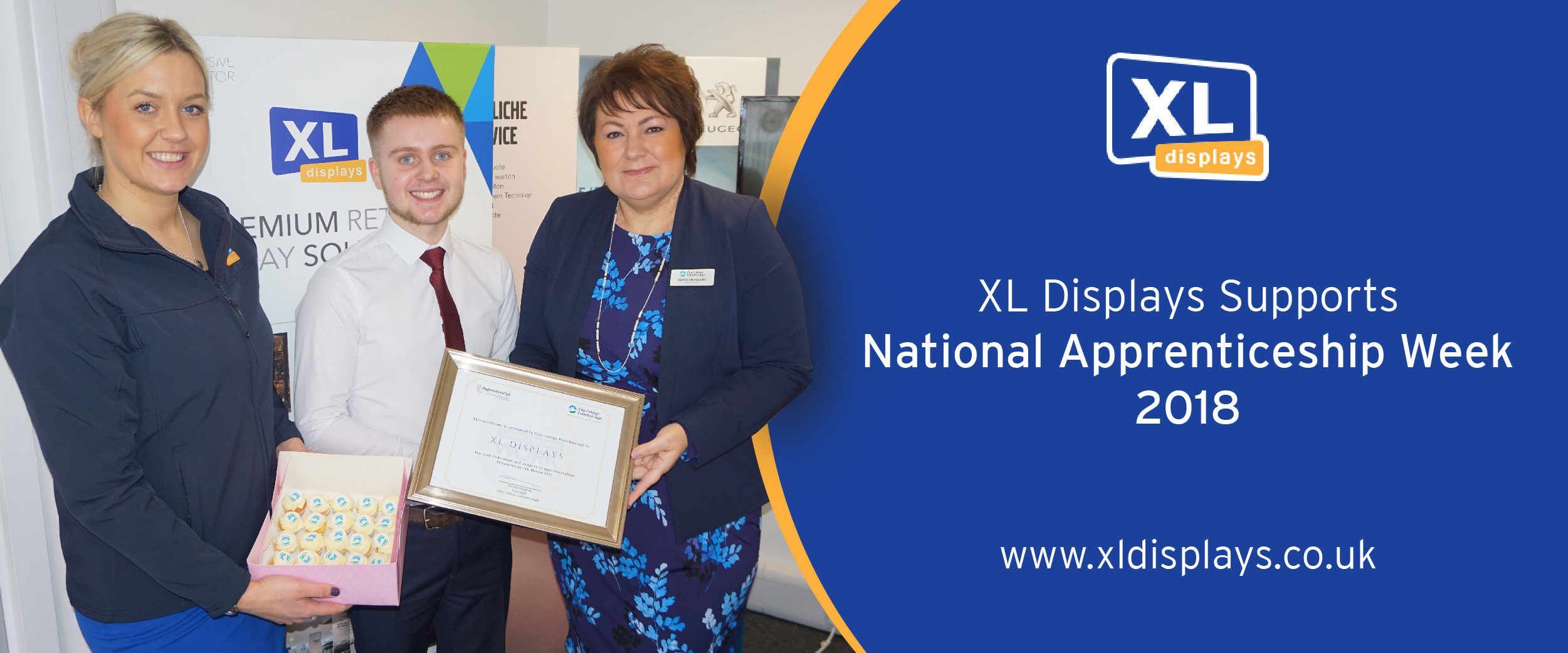 XL Displays Supports National Apprenticeship Week 2018
