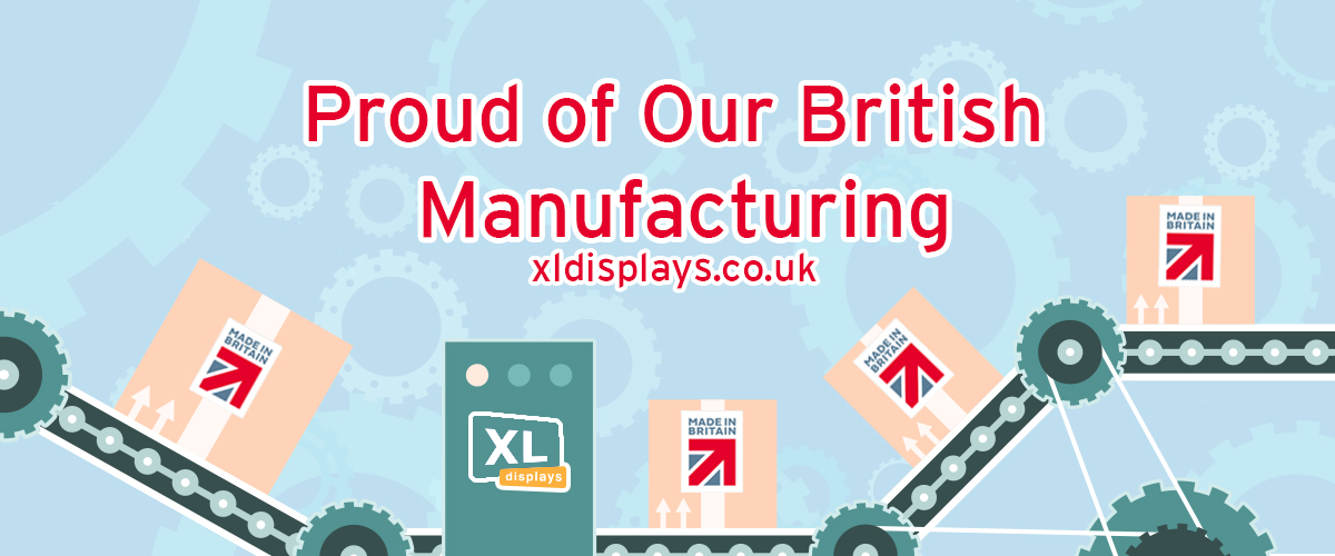 Proud of our British Manufacturing