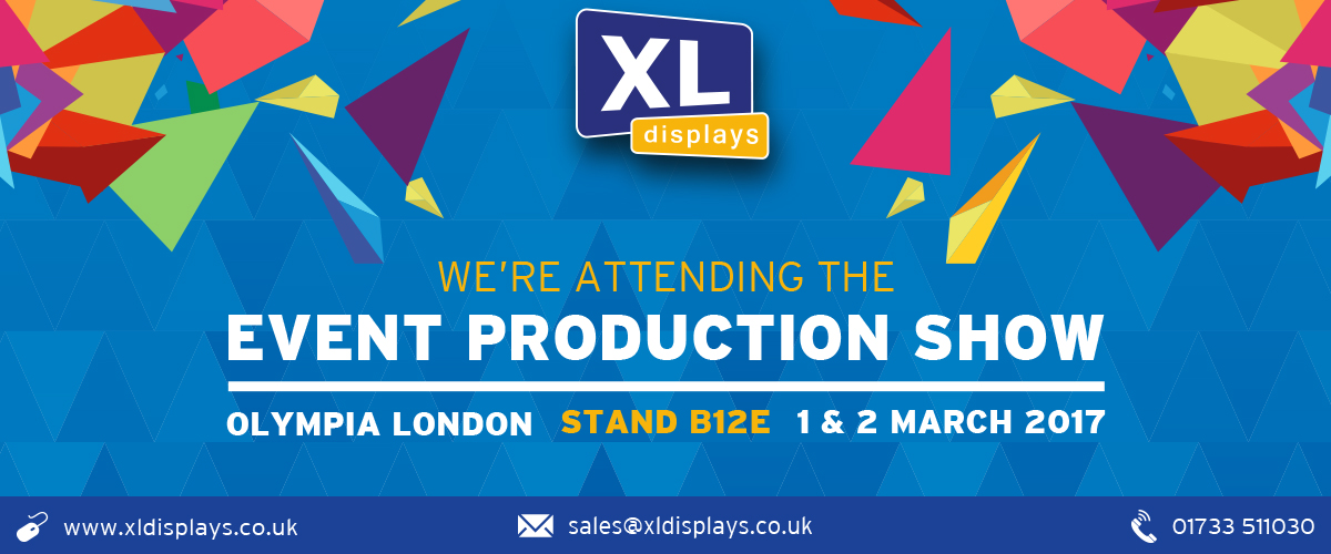 XL Displays to Exhibit at Event Production Show