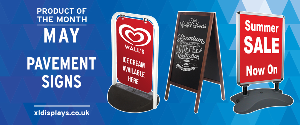 Product of the Month: Pavement Signs