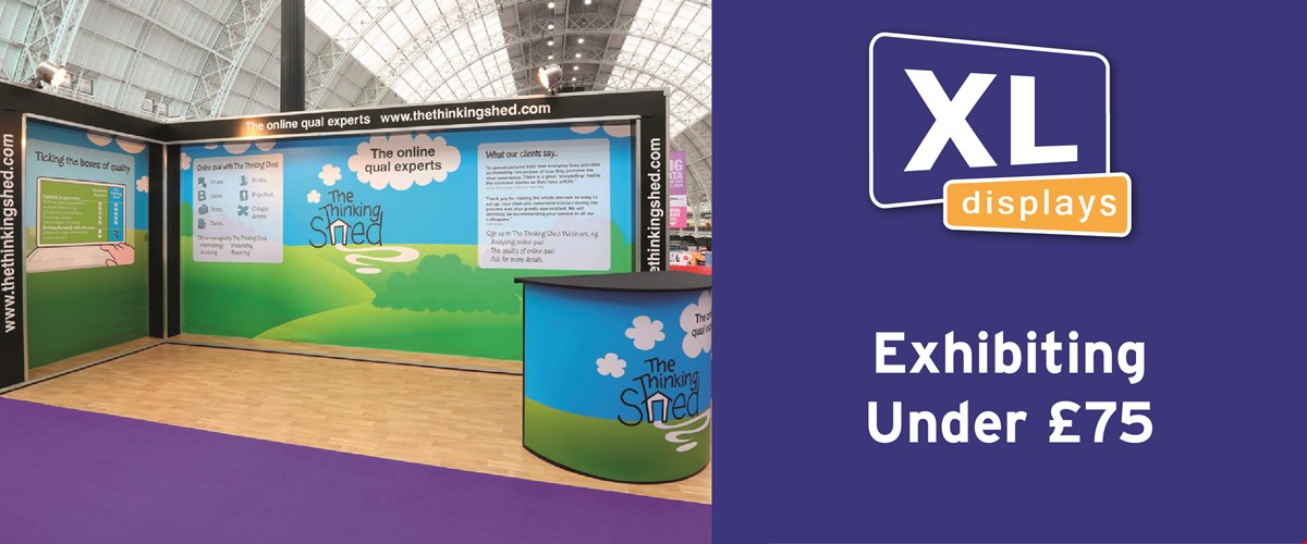 Exhibition Stands Under £75