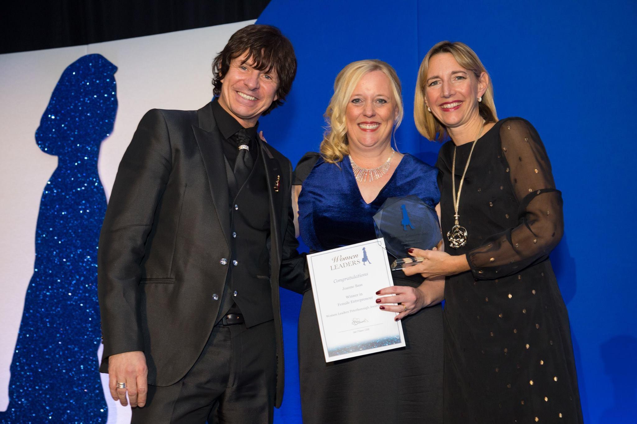 Joanne Bass Wins Female Entrepreneur Award