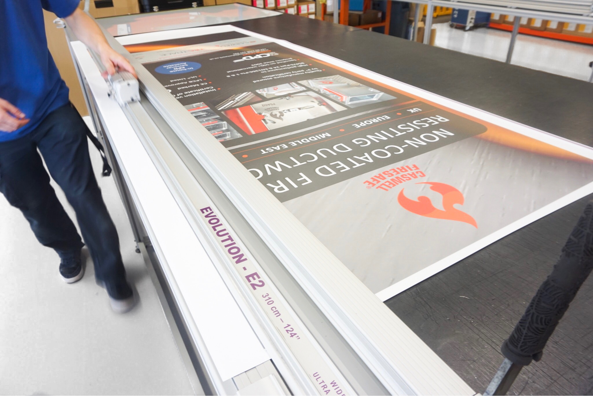 Banner Stands Are Printed And Manufactured In-house