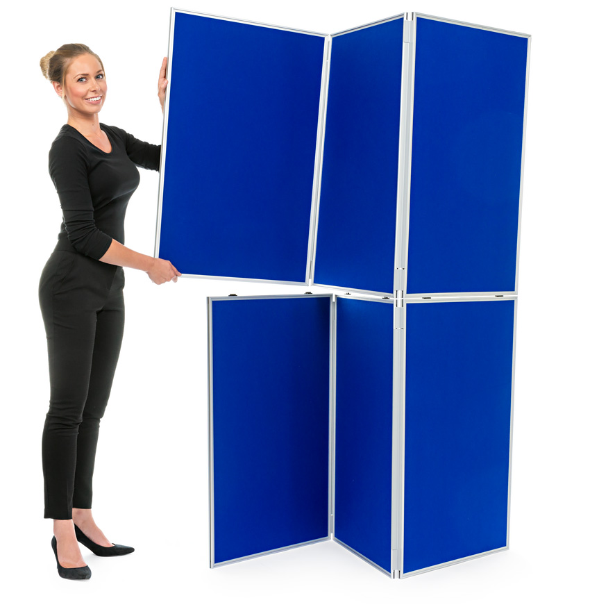 Effortless To Assemble Folding Display Boards