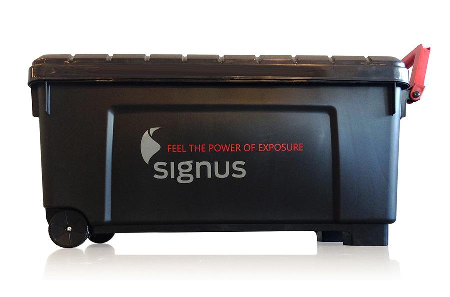 Signus ONE Wheeled Trolley Box For Easy Storage & Transportation