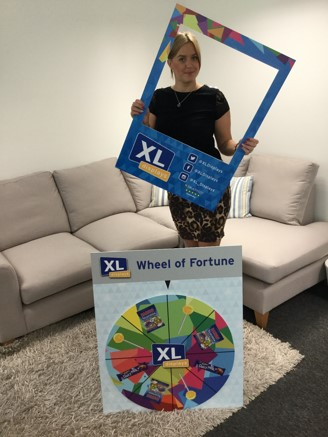 Exhibition Stand Competition - Wheel Of Fortune